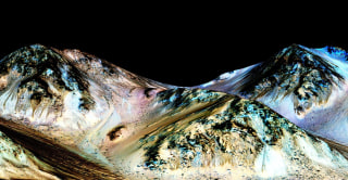 Image: Water on mars