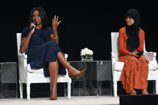 """Image: Glamour Hosts """"The Power Of An Educated Girl"""" With First Lady Michelle Obama"""