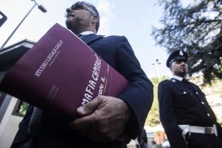 Image: Roberto Iacopo's lawyer Fabrizio Gallo