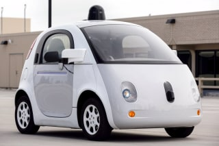 Image: A prototype of Google's self-driving vehicle
