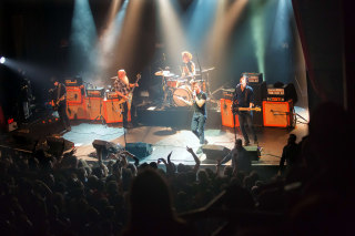 Image: American rock group Eagles of Death Metal perform