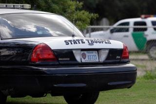 Image: Texas trooper vehicle