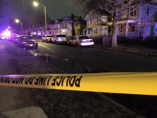 IMAGE: Fatal shooting scene in Columbus, Ohio
