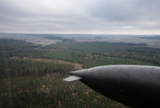 Image: The Suwalki Gap region from above