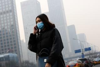 Image: Smog in Beijing, China