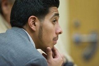 Image: Defendant Alex Rios during his trial