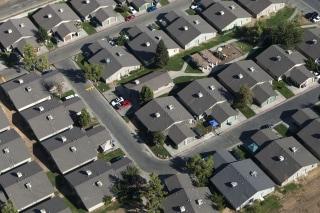 USA: Family homes near Fresno