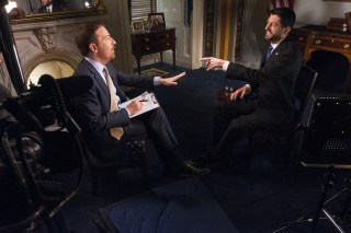 Speaker of the House Paul Ryan and NBC's Chuck Todd