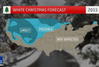 Image: The El Nino effect means few will see a white Christmas in 2015.