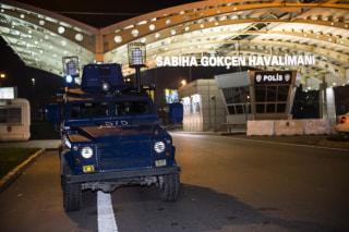 Image: Sabiha Gokcen Airport in Istanbul