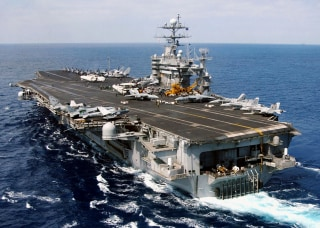U.S. Navy Launches Strikes On Iraq