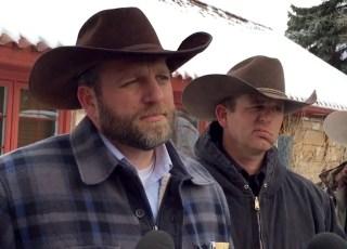Image: Ammon Bundy and Ryan Bundy