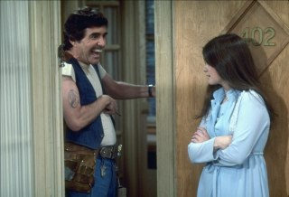 "Image: ""One Day at a Time"" cast members Pat Harrington Jr. and Valerie Bertinelli"