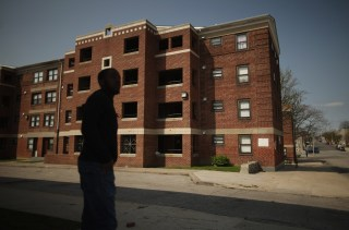 Image: Gilmor Homes housing project in Baltimore, Md