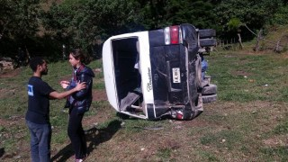 Image: Two US women died and 30 injured after a bus accident in Honduras