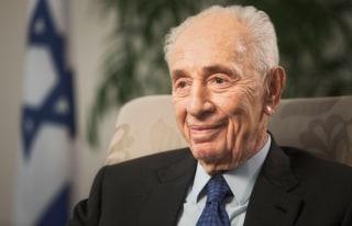 Image: Former Israeli President Shimon Peres