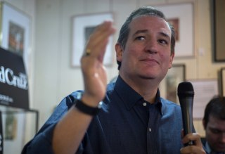 Image: United States Senator and Republican Presidential hopeful Ted Cruz