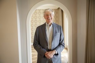 Image: Charles Koch in 2015