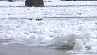 IMAGE: Rock River ice jam in Illinois