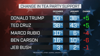 NBC News Wall Street Journal Poll TEA PARTY CHANGE
