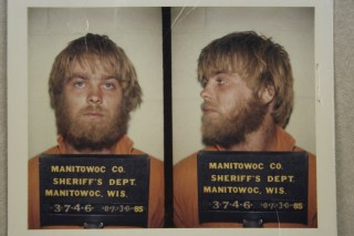 "Image: Steven Avery is shown in a booking photo from the Netflix documentary series ""Making a Murderer"", in this handout provided by Netflix"