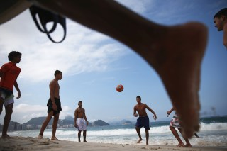 Image: One Year Out, Rio Continues Preparations For The 2016 Olympics