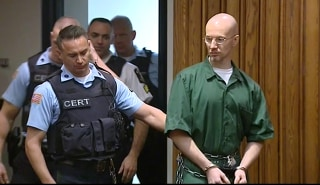 Image: David Sweat, New York Prison Escapee, appears in court for sentencing
