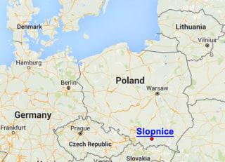 Image: Slopnice Map
