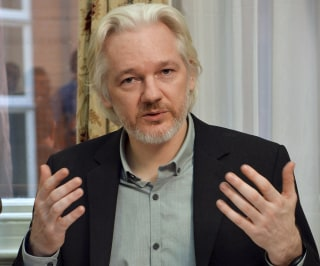 Image: File photo of WikiLeaks founder Julian Assange