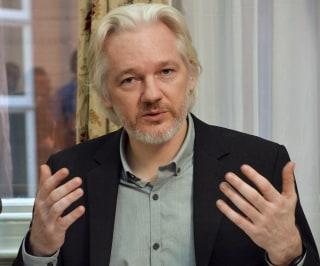 Image: File photo of WikiLeaks founder Julian Assange