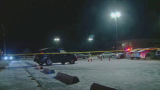 Image: Police activity around the scene