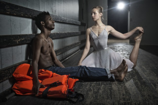 "Ballerinas and refugees join forces in ""Uropa"" which has been showing to sold-out audiences since January."