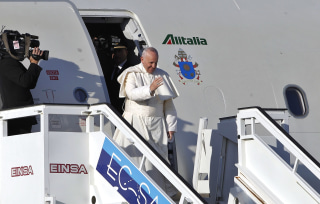 Image: Pope Francis farewell ceremony in Havana