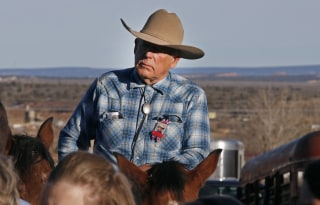 "Image: Funeral Held For Rancher Robert ""LaVoy"" Finicum Killed In Oregon Standoff"