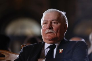 Image: Ex-Polish President Lech Walesa in 2015.