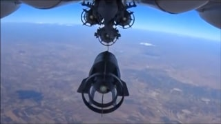 Image: Russian airsrike in Syria
