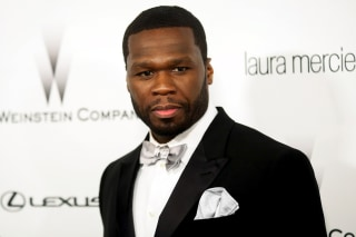 "Image: Actor and musician Curtis ""50 Cent"" Jackson"