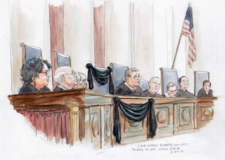 Image: Justice Scalia Tribute Sketches 01