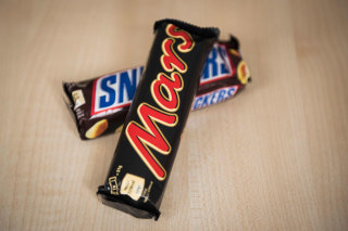 Image: Mars and Snickers