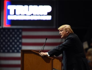 Image: Donald Trump Holds Campaign Rally In Las Vegas, Day Ahead Of State's GOP Caucus