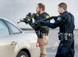 IMAGE: Hesston, Kansas, shooting scene