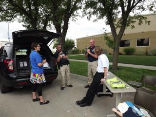 Hesston Police Chief Doug Schroeder