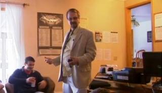 IMAGE: Pastor Tim Remington in 2014