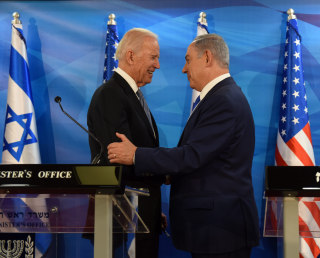 Image: Vice President Joe Biden and Israeli Prime Minister Benjamin Netanyahu