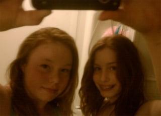 Image: Ky-Lea Fortner(L) and Shaeleen Fitch-Fortner