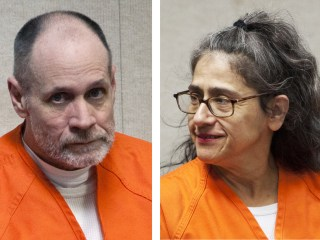 Image: Combination of file photos of Phillip and Nancy Garrido