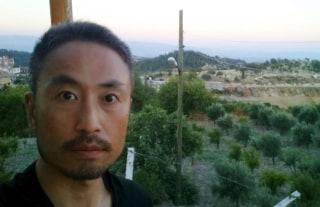 Image: Kyodo handout photo of Japanese journalist Jumpei Yasuda