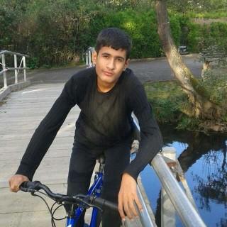 Image: Refugee Fatima Ahmad's son, Iham, 13, is already in Frankfurt, Germany.