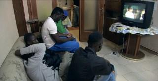 Image: Migrants in Corleone, Sicily