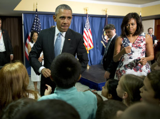 Image: Barack and Michelle Obama in Havana